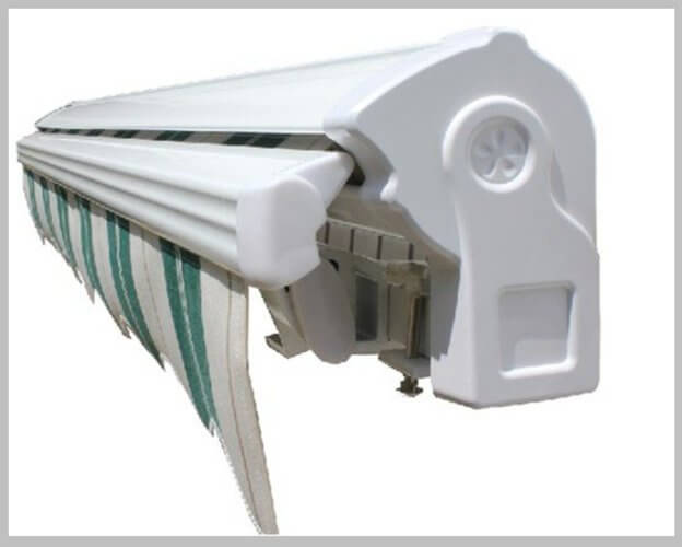 Retractable Awnings   Motorized And Manual Retractable Window Awnings   A  To Z Awnings
